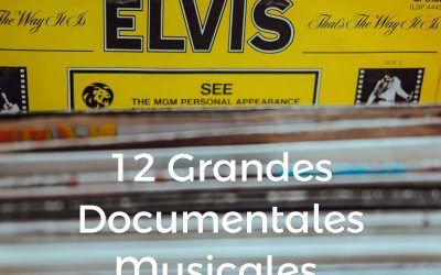 12 grandes documentales musicales