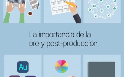 La importancia de la preproducción y la post-producción